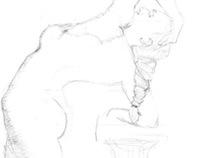 Posing Character's Concept Art