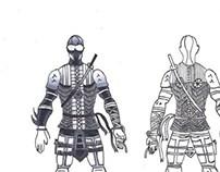 Comic Character Concept Art