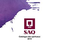 Dépliant Dynamique / Dynamic Flyer / SAQ - 2014