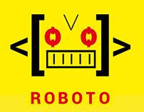 Espécimen tipográfico - Roboto - Cosgaya 2