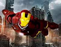 Photomontage - IronMan