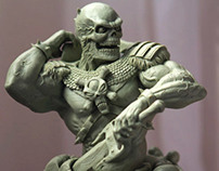 Skeletor Sculpture
