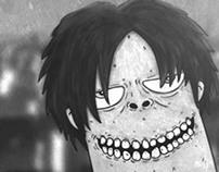 eren titan (shingeki no kyojin fanart)