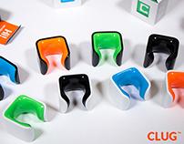 CLUG - Tough and tiny bike storage