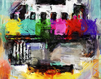 New digital paintings