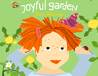 Julia and her joyful garden
