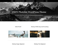 VRYN-Photolist is a Free WordPress theme.