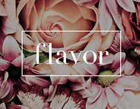 """Flavor"" flowers store"