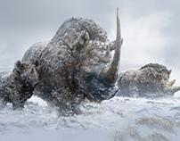 Woolly Rhinos / Prehistoric mammals