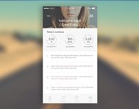 Fitness/Lifestyle App Concept