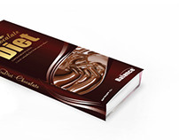 Diet chocolate package design