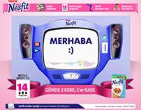 Nestle / Nesfit Konuşan Tartı