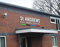St Andrews Business Centre branding