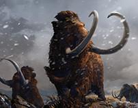 Woolly Mammoths / Prehistoric Mammals