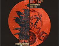 Kraken Fest II : Concert Poster Design