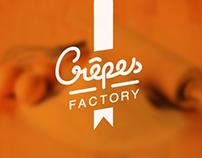 Crêpes Factory Branding
