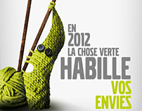 La Chose Verte - Voeux 2012