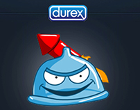 Durex Sexmograf İPhone application karakter tasarımı