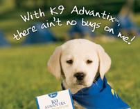 K9 Advantix Print Campaign