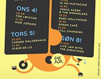 Café Sør Posters (2nd Quarter 2014)