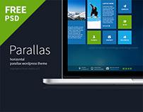 Parallas - Free Portfolio PSD Template