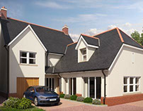 Exterior Visuals for Bethany Lane, West Cross, Swansea