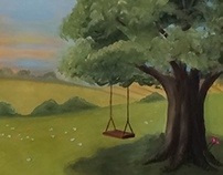 The Swing - Copyright and Dedication Pg