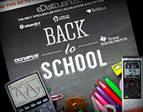 """Distributor """"Back to School"""" Email"""