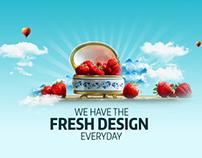 Web Company Website Homepage