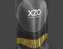 Mockups de Embalagens XZO 3D