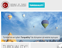Turquality Website - Information Arch. and Content Str