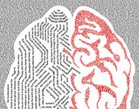 Illustration with Type - Brain