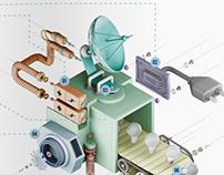 CGI Illustration - Editorial