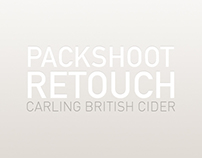 Retouch - Carling British Cider