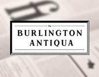 Burlington Antiqua | Specimen Book