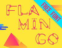 * Flamingo * FREE Font Type*