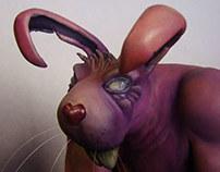 Roughneck Rabbit - Escultura