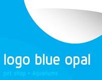logo blue opal