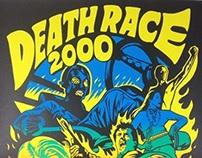 """Death Race 2000"" Print by Jeremy Wheeler"