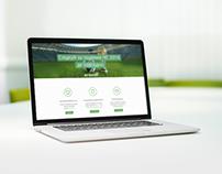 Football24.ua Landing page