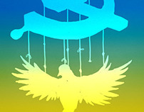 Free Ukraine - Political Illustration