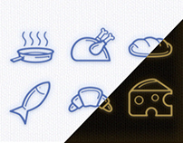 Just Nice Cooking Icons