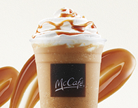 McCafé Singapore Food Art
