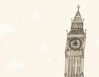 London Institute - logo, web design and illustration