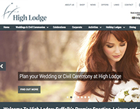 High Lodge Leisure website design