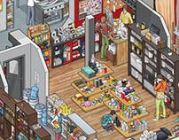 Art. Lebedev Studio's Big Café