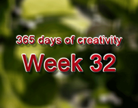 365 days of creativity/art - Week 32
