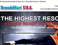 Brandsmart USA Sharp: Email Newsletter