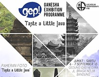 "Ganesha Exhibition Programme ""Taste a Little Java"""