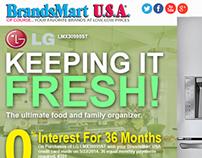 BrandsmartUSA (LG) Email Newsletter